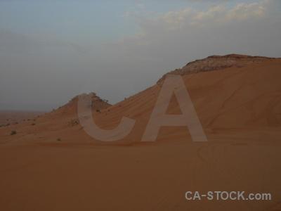 Dune desert sand western asia middle east.