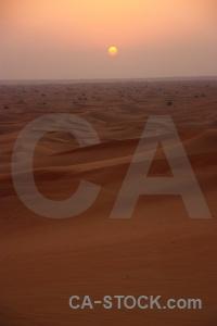 Dune dubai western asia desert uae.