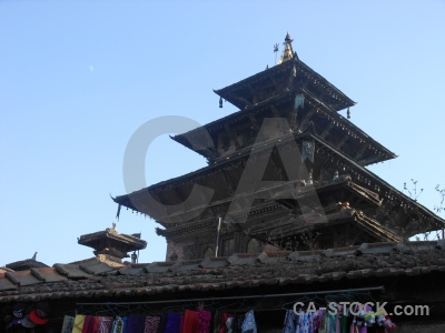 Durbar square pagoda unesco buddhism building.