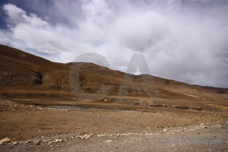 East asia altitude cloud buddhist plateau.