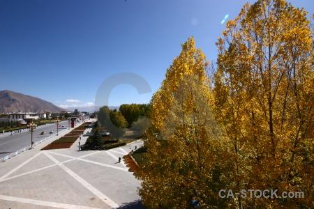 East asia china road tibet sky.