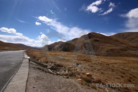 East asia friendship highway desert arid china.
