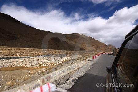 East asia mountain tibet friendship highway china.