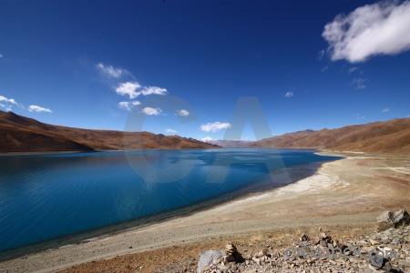 East asia tibet sky plateau friendship highway.