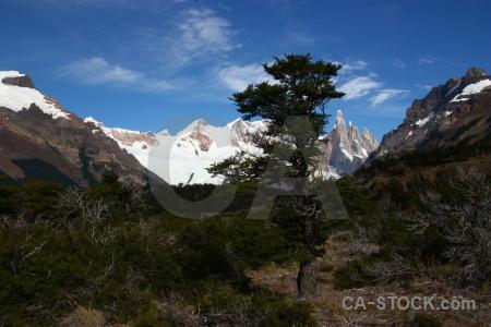 El chalten argentina senda a laguna torre landscape trek.