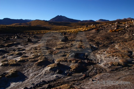 El tatio andes south america chile mountain.
