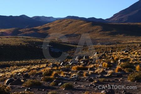 El tatio landscape atacama desert rock sky.