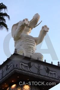 Elephant statue animal.