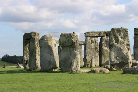 England rock wiltshire stonehenge europe.