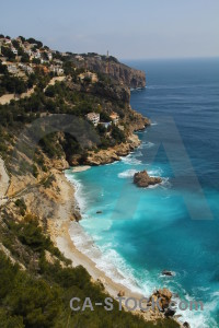 Europe ambolo javea blue cliff.