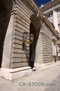 Europe archway building royal spain.