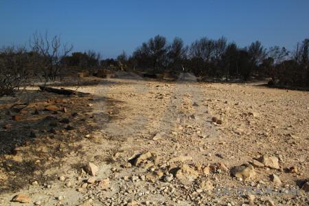 Europe ash burnt javea montgo fire.
