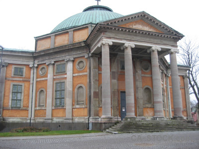 Europe building church sweden karlskrona.