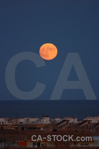 Europe building moon javea spain.