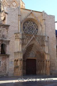 Europe building spain church valencia.