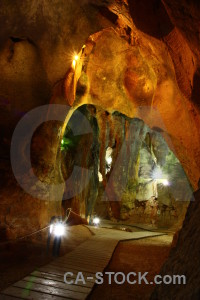 Europe cueva de las calaveras spain rock cave.