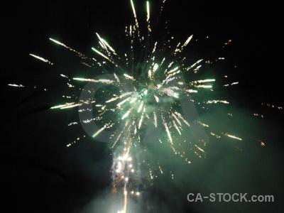 Europe firework javea spain black.
