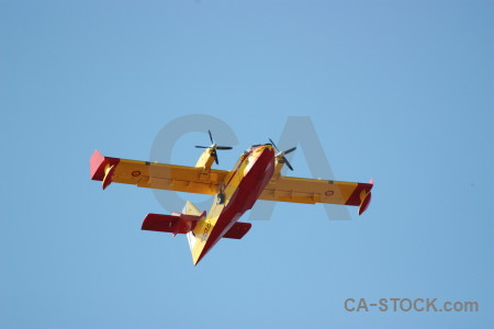 Europe javea airplane spain montgo fire.