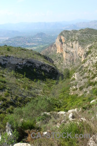 Europe javea rock spain montgo climb.
