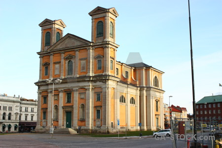 Europe karlskrona building sweden church.