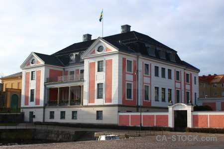 Europe karlskrona sweden white building.