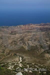 Europe la plana montgo climb javea coast.