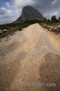 Europe montgo javea spain mountain.