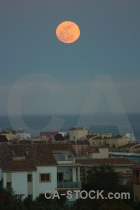 Europe moon javea spain.
