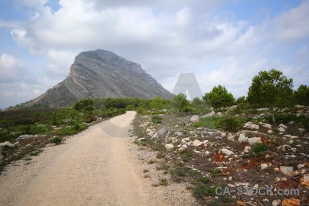 Europe mountain montgo climb spain javea.