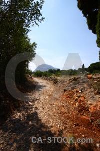 Europe mountain spain path soil.