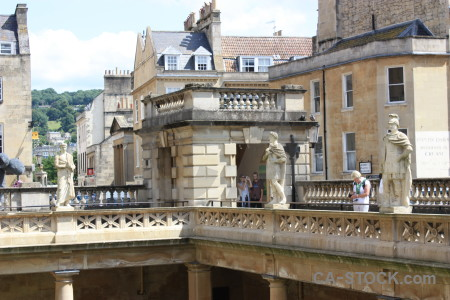 Europe person bath roman baths uk.
