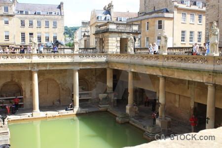 Europe person uk water bath.