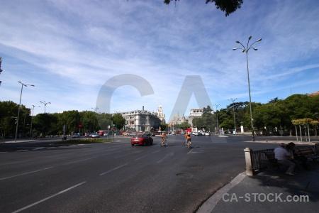 Europe road building spain sky.