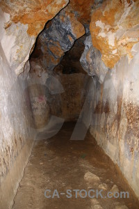 Europe rock cova de laigua cave montgo climb.