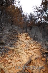 Europe rock montgo fire path javea.