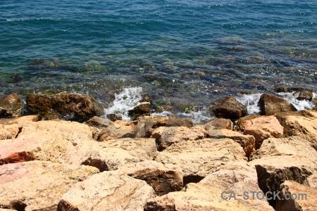 Europe rock spain water sea.