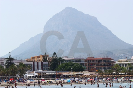 Europe sea beach water javea.