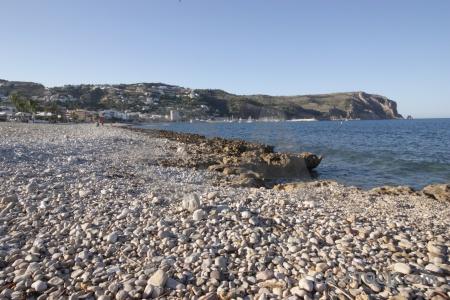 Europe sea javea beach water.