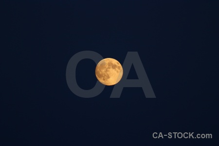 Europe sky sweden moon karlskrona.