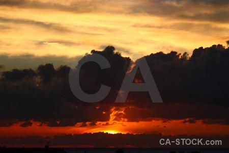 Europe spain javea cloud sunrise.