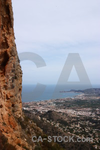 Europe spain javea montgo eye climb.