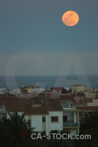 Europe spain moon javea.