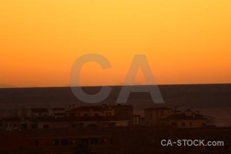 Europe spain sunrise sunset javea.