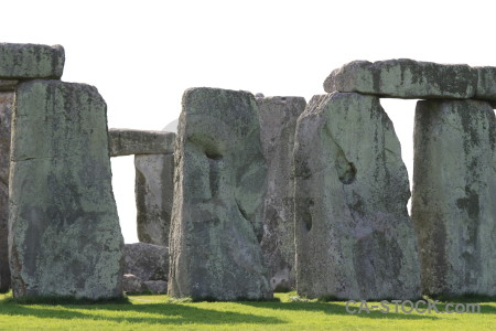 Europe stonehenge rock wiltshire england.