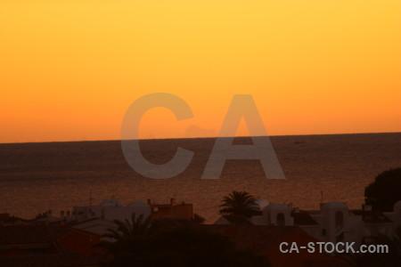 Europe sunrise javea sunset spain.