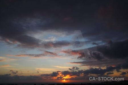 Europe sunrise sun javea spain.