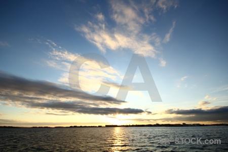 Europe sunset karlskrona sunrise cloud.