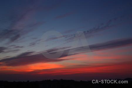 Europe sunset sunrise cloud spain.