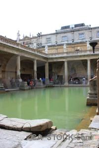 Europe uk roman baths bath.