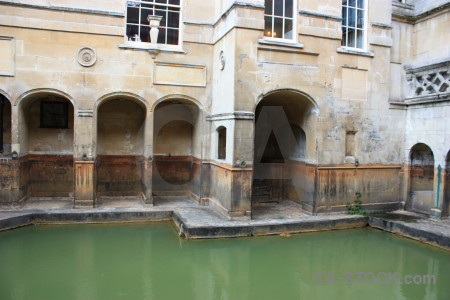 Europe uk water roman bath.